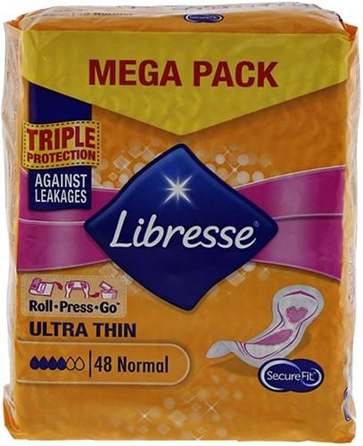 Maandverband Libresse Ultra normaal 48 stuks