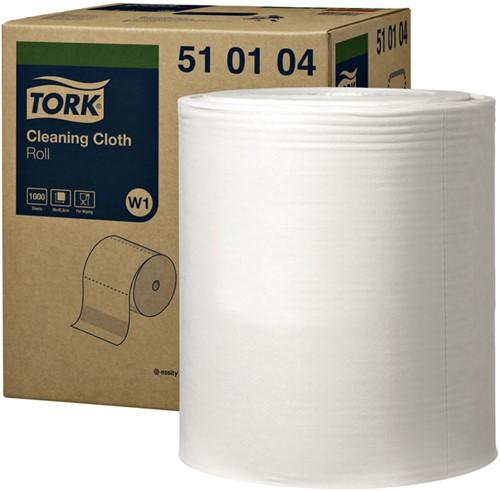 Reinigingsdoek Tork W1 510104 nonwoven 1000vel