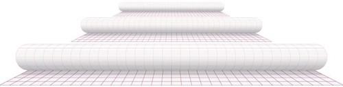 Kaftplastic Boeklon 50cmx1m zelfklevend  transparant