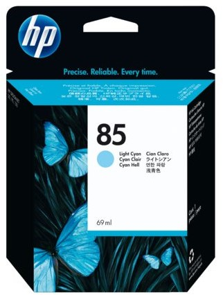 Inkcartridge HP C9428A 85 lichtblauw