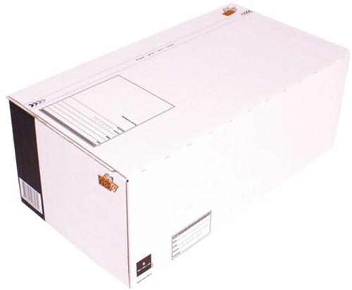 Postpakketbox 6 CleverPack 485x260x185mm wit 25stuks