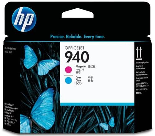 Printkop HP C4901A 940 blauw + rood