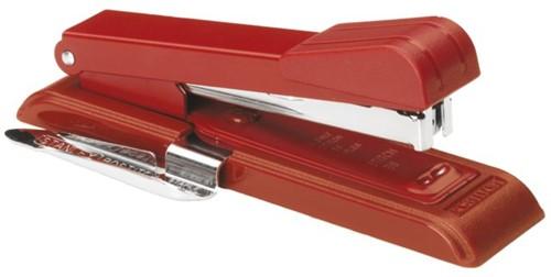 Nietmachine Bostitch B8+ontnieter voor speciale nietjes STRC2115 rood