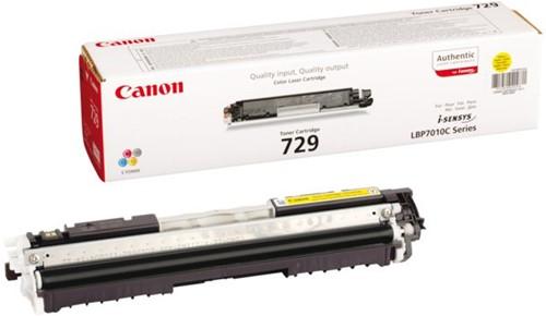 Tonercartridge Canon 729 geel