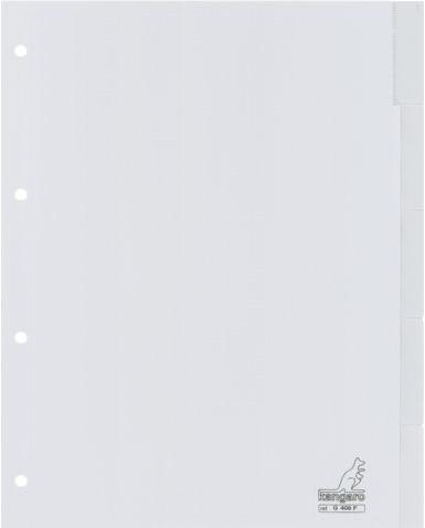 Tabbladen Kangaro 4-gaats G405F 5-delig+venster grijs PP