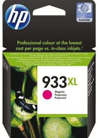 Inktcartridge HP CN055AE 933XL rood HC