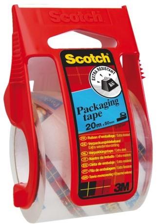 Verpakkingstape Scotch E5020D transparant