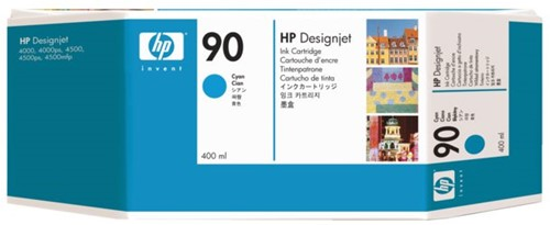 Inkcartridge HP C5061A 90 blauw