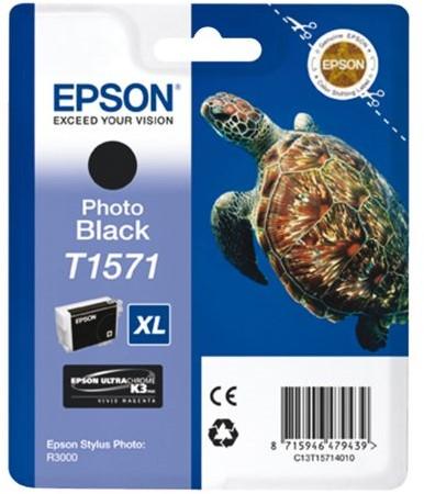 Inkcartridge Epson T1571 zwart