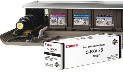 Tonercartridge Canon C-EXV 28 zwart