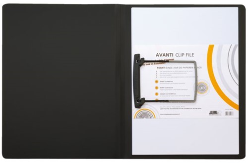 Clipmap  Avanti A4 zwart