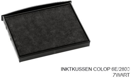 Stempelkussen Colop 6E/2800 zwart