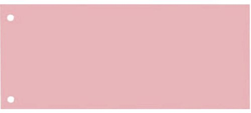 Scheidingsstrook Oxford smal 240x105mm 190gr roze