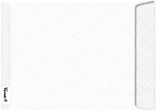 Envelop Tyvek akte B4 254x350mm 54gr wit 100stuks