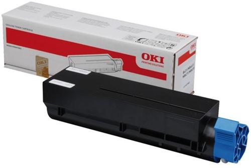 Toner Oki 44574802 zwart