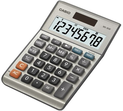 Rekenmachine Casio MS-80B