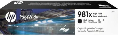 Inktcartridge HP L0R12A 981X zwart HC