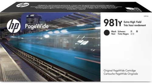 Inktcartridge HP L0R16A 981Y zwart EHC