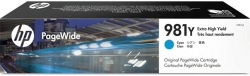 Inktcartridge HP L0R13A 981Y blauw EHC