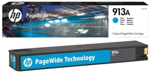 Inktcartridge HP F6T77AE 913A blauw