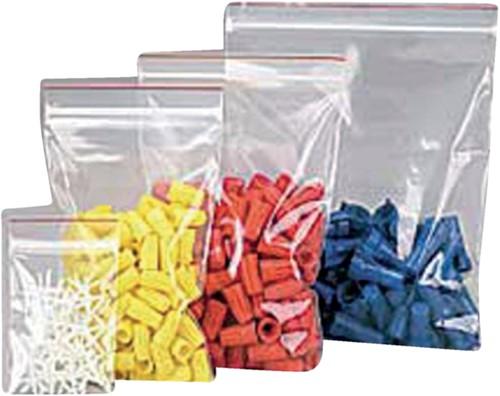 Verpakkingszak grip 230x320mm 50mu hersluitbaar 25 stuks