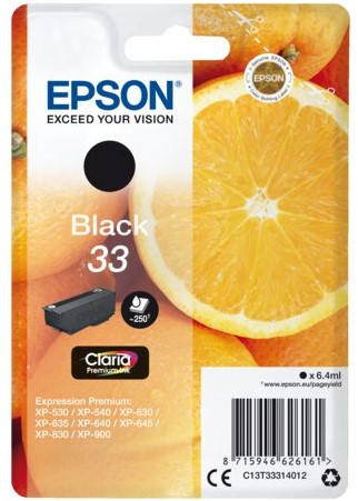 Inktcartridge Epson 33 T3331 zwart