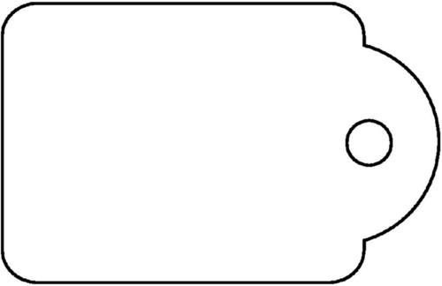 Label Apli karton nr383 7x19mm wit