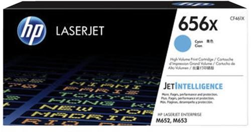 Tonercartridge HP CF461X 656X blauw HC