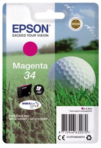 Inktcartridge Epson 34 T3463 rood