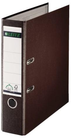Ordner Leitz A4 80mm PP bruin
