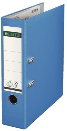 Ordner Leitz A4 80mm PP lichtblauw