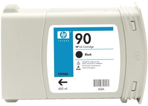 Inkcartridge HP C5058A 90 zwart