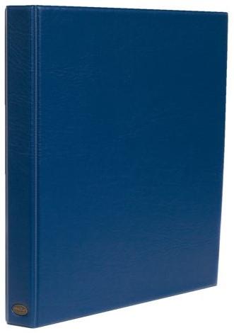 Ringband Multo Hannibal A4 23-rings O-mech 32mm lederlook blauw
