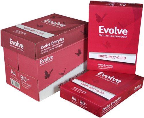 Kopieerpapier Evolve Everyday A4 80 g/m² (doos à 5 pak)
