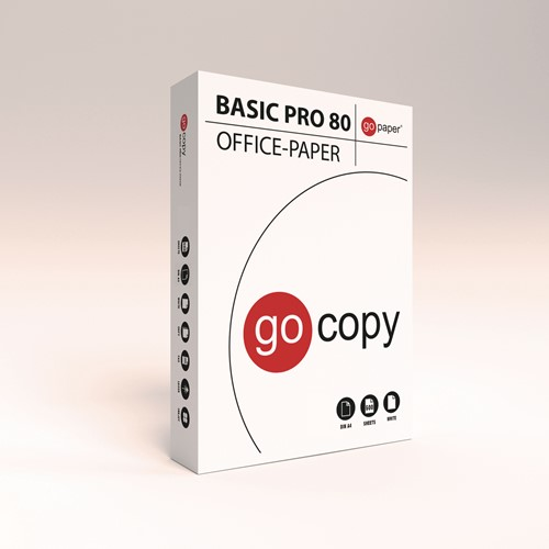 Kopieerpapier Go Copy Basic Pro 80 A4, pallet 240 pakken