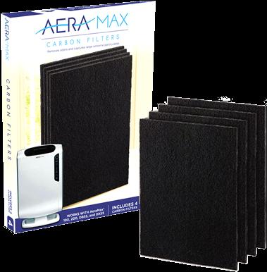 Koolstoffilter voor de luchtreiniger AeraMax® DX55/DB55 (pak à 4 stuks)