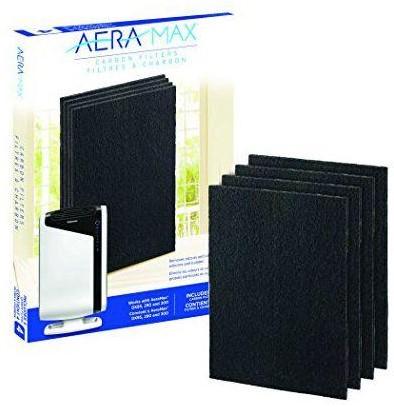 Koolstoffilter voor de luchtreiniger AeraMax® DX95 (pak à 4 stuks)