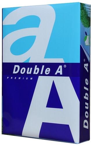 """Kopieerpapier Double A A4 80 gram """"premium"""" (pak à 500 vel)"""
