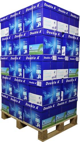 """Kopieerpapier Double A A4 80 gram """"premium"""", pallet 200 pak"""