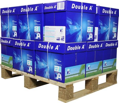 """Kopieerpapier Double A A4 80 gram """"premium"""", minipallet 80 pak"""